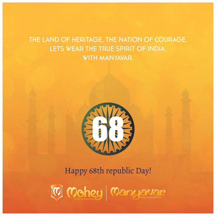 Saare jahan se accha Hindustan humara. #HappyRepublicDay