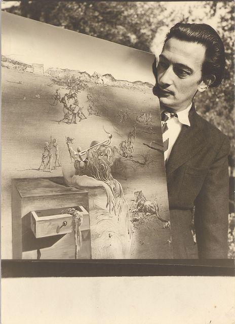 Dalí, 1938 by Fundació Dalí, via Flickr