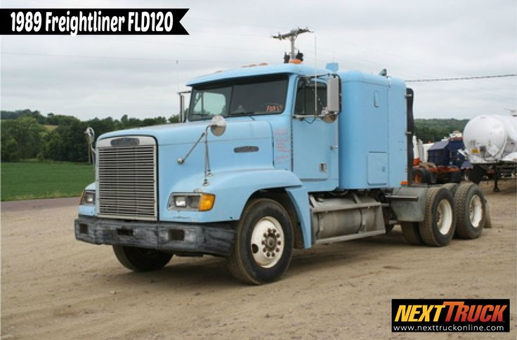 #ThrowbackThursday Check out this 1989 #Freightliner FLD120. View more Freightliner #Trucks at http://www.nexttruckonline.com/trucks-for-sale/by-make/Freightliner #Trucking #NextTruck