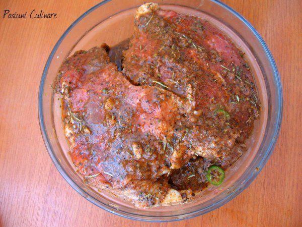 Marinada pt. carne de porc