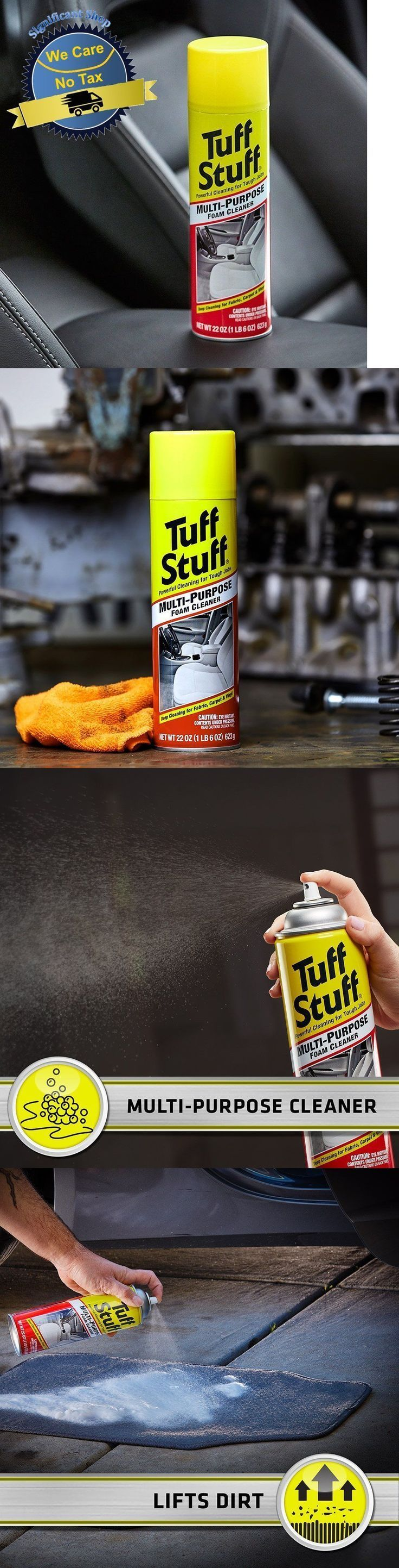 Cleaning products 20605 car interior multi purpose cleaning spray deep foam cle