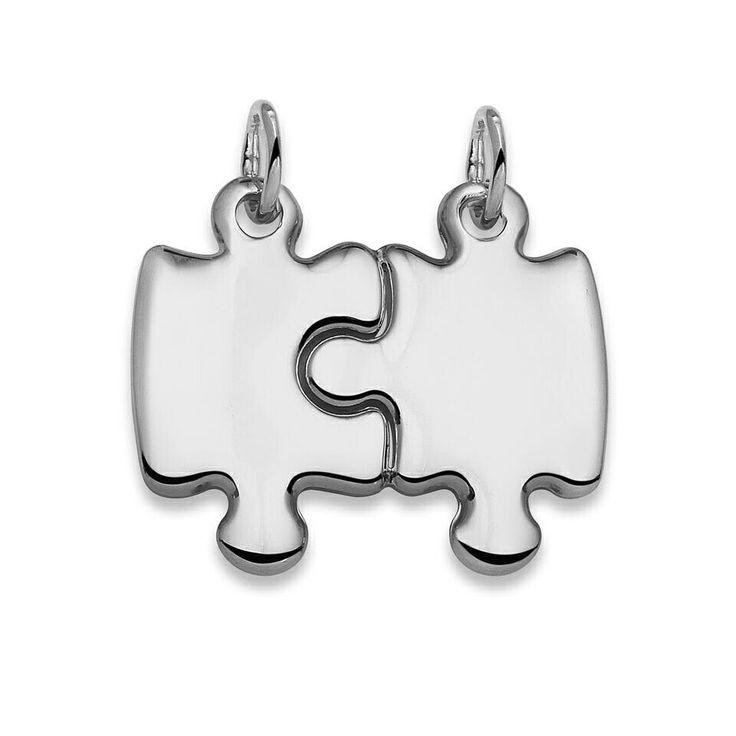 Jaettava palapeliriipus. Divisible puzzle pendant.