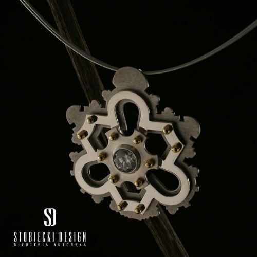 ŚWIĄTYNIA- wisiorek inspirowany kościołem Sant'Ivo alla Sapienza  Biżuteria Wisiory stobieckidesign
