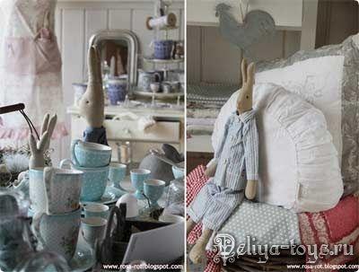 Текстильный заяц своими руками. Зайчики из ткани ручная работа. Тряпичные зайцы хандмэйд. Выкройка зайцев Handmade. Для уюта в доме.