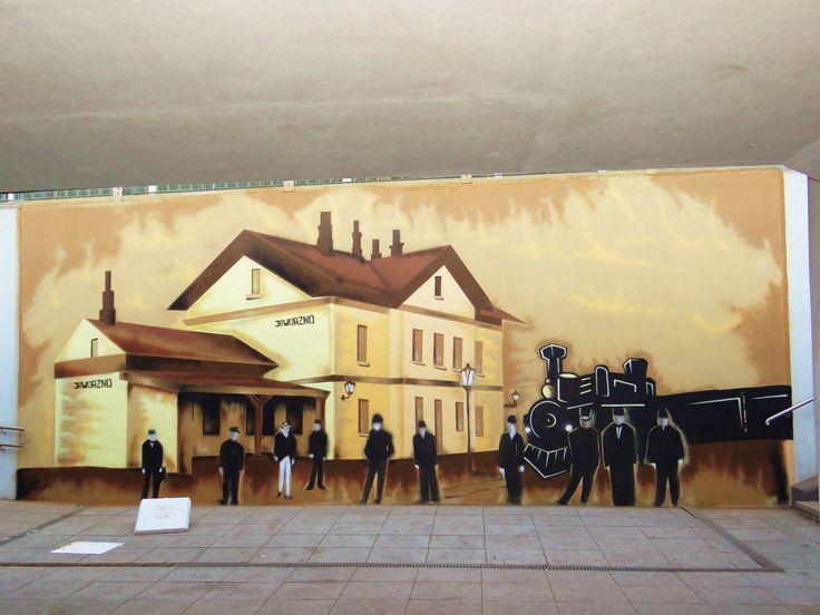 graffiti , realism , mural south Poland  Śląsk , Jaworzno , old school writers , graffiti na zlecenie , rage , oner , upser , spajder , spray art , sepia graffiti ,