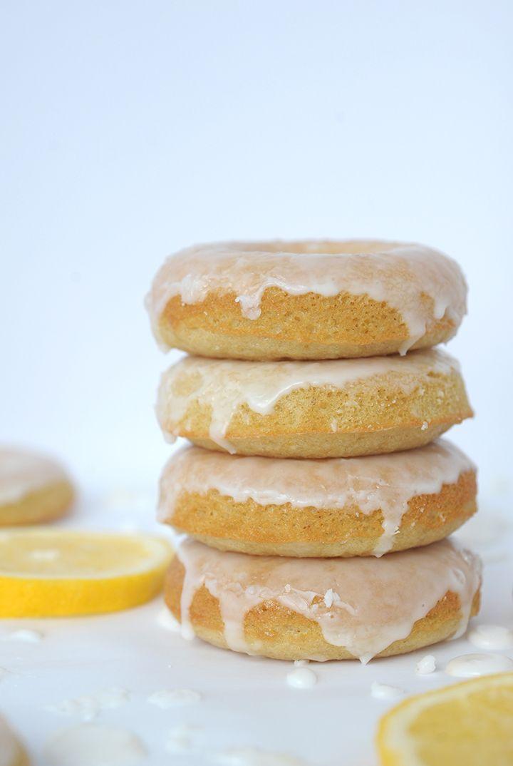 Baked Lemon Donuts on aliceandlois.com