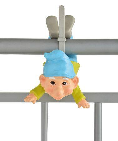 Ozzy the Balcony Gnome Figurine #zulily #zulilyfinds