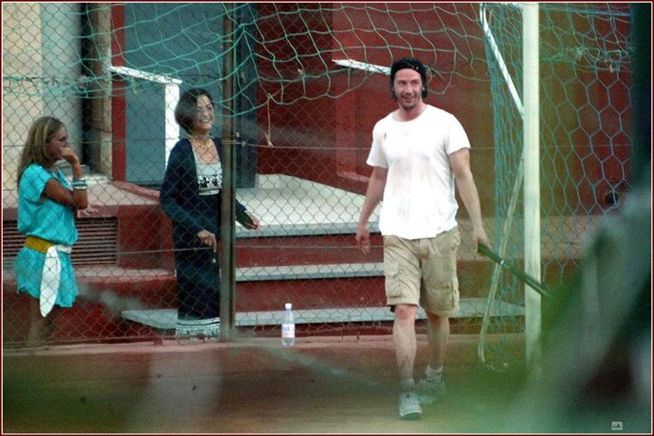 Keanu and Kim Reeves