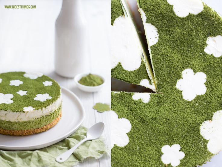 Matcha Limetten Cheesecake