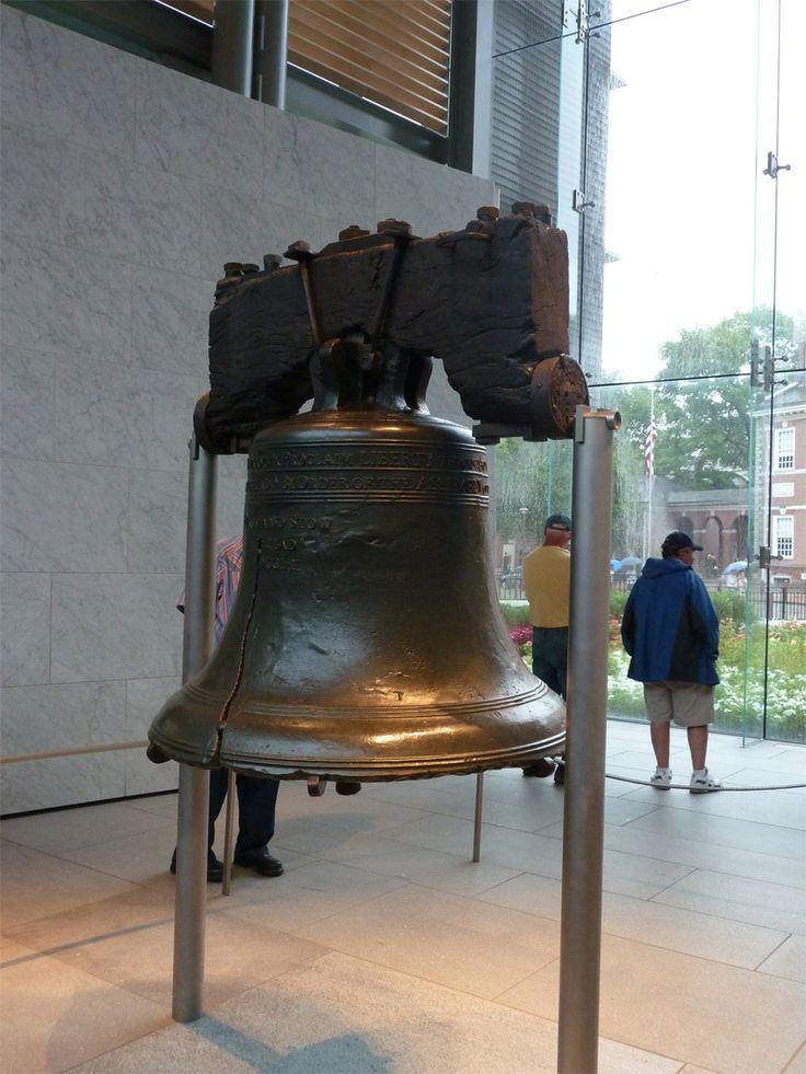 Liberty Bell, à Philadelphie #USA