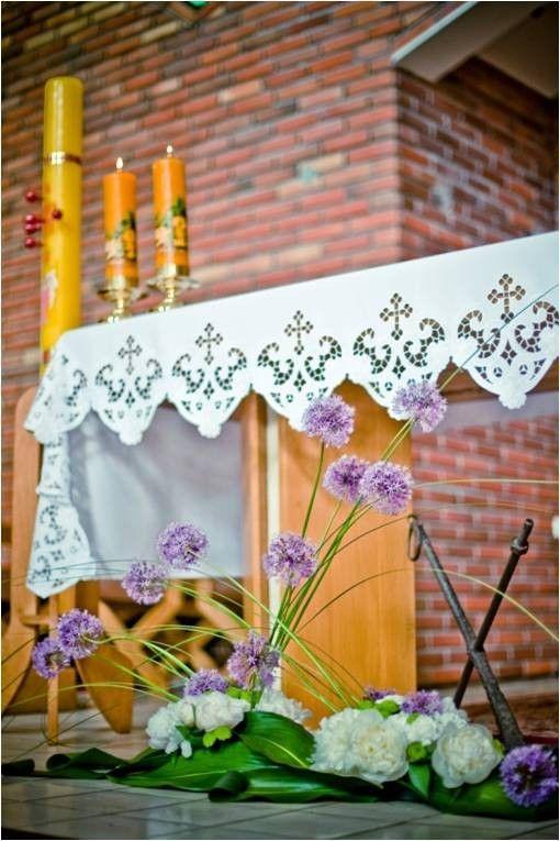 Pomysły na dekoracje kościoła i sali weselnej - abcslubu.pl