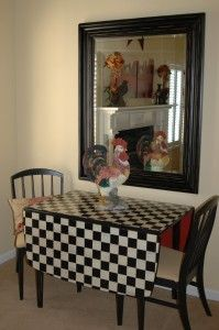 mackenzie childs - Google Search... I have a table similar...:)