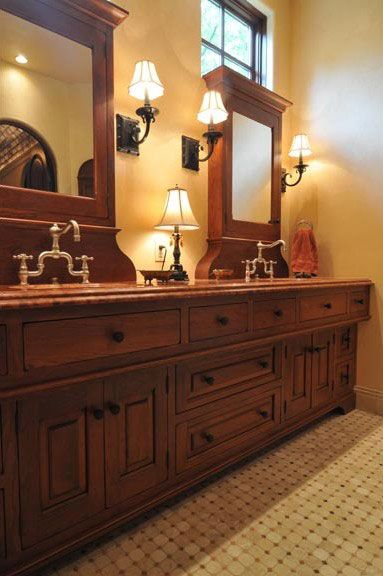 Exceptional Old World Kitchen And Bath Cabinetry