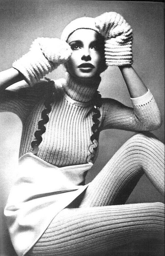 """Vogue Paris 1969 """"Paris"""" Model: Maudie James Photographer: Guy Bourdin"""