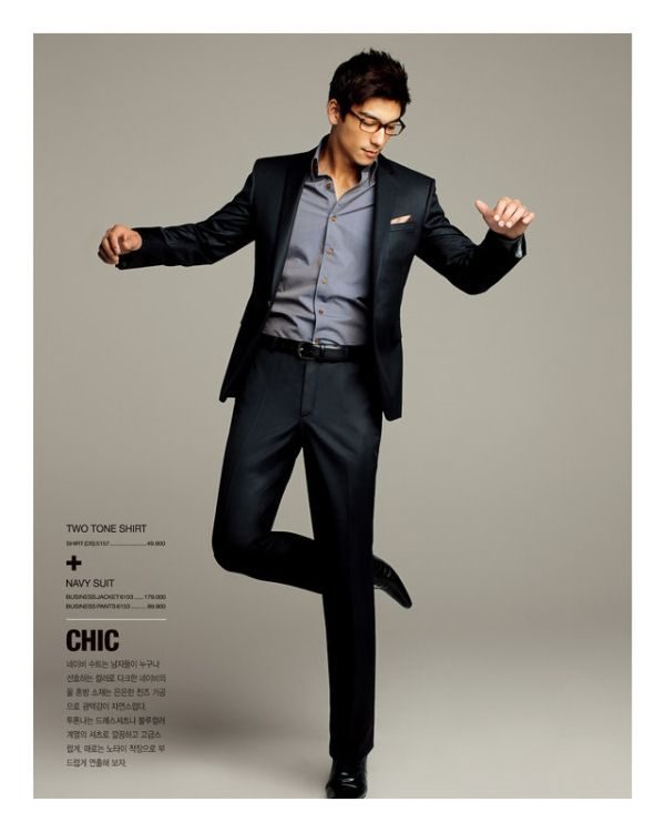 27 best images about ☞ Men's Style: Suits NAVY ☜ on Pinterest ...