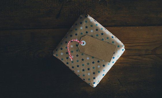 Card, Gift, Gift Wrap, Paper
