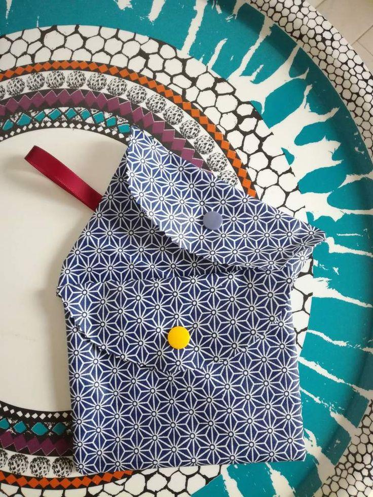 Pochette pour savon nomade - Tuto facile et rapide