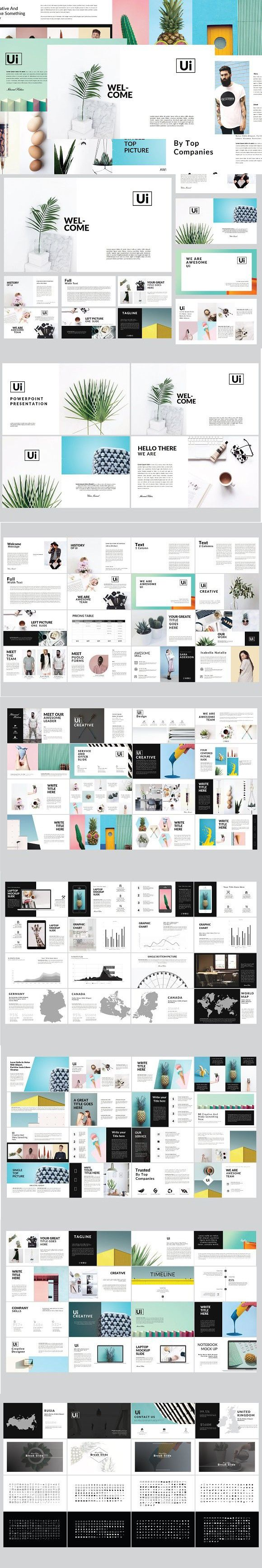 Ui MNML Multipurpose Keynote. Presentation Templates