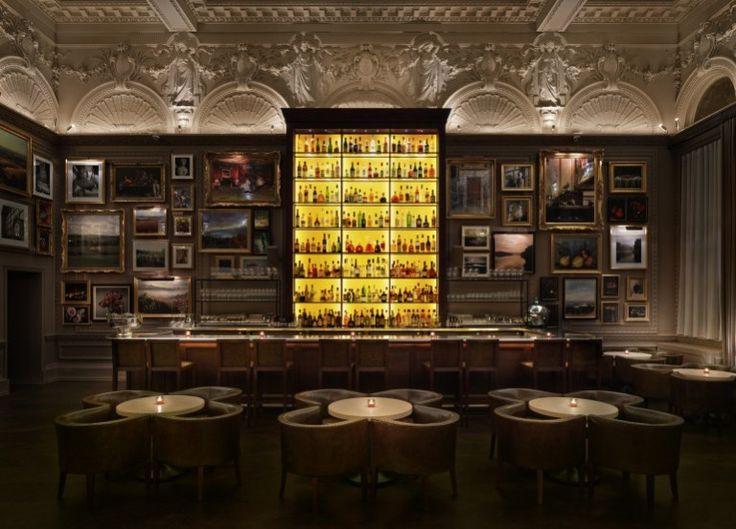 Hygge inspired bar design