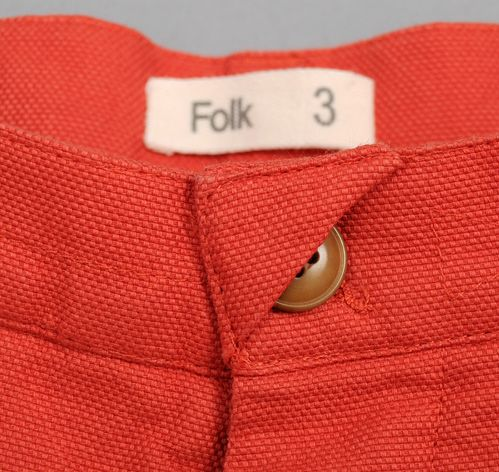 Great detail on Folk Pants