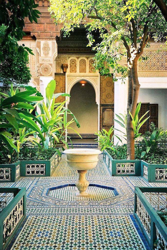 Moroccan Courtyard Garden Latest News Breaking News Headlines Scoopnest In 2020 Moroccan Garden Moroccan Interiors Morocco