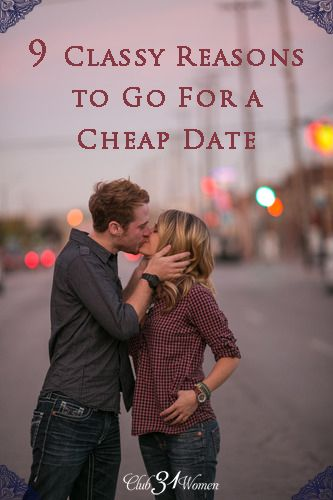 I love going out for a fun, inexpensive date, don't you? Here are 9 Classy Reasons to Go Out For a Cheap Date