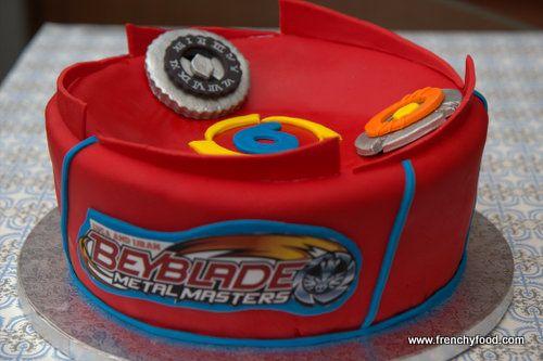 Beyblade cake -100% edible