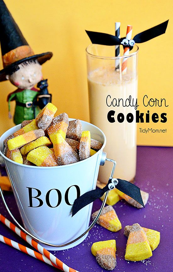 Candy Corn Butter Cookies | Candy Corn, Candy and Butter