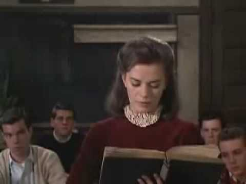 "Natalie Wood - ""Splendor in the Grass""  Go to 2:26.  This is the part where I fell in love with Natalie Wood years ago."