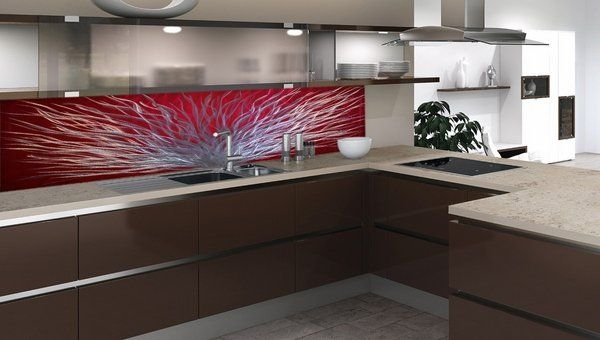 55 best glass kitchen splashbacks images on pinterest for Kitchen colors with white cabinets with slime logo stickers