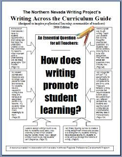writing across the curriculum ideas Popular applications of writing across the curriculum writing to learn: what follows are and play with the difficult ideas and concepts presented in the class other.