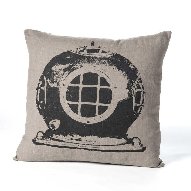 Divers Helmet Pillow