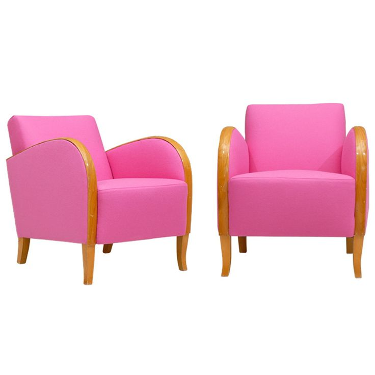 Hot Pink Deco Chairs