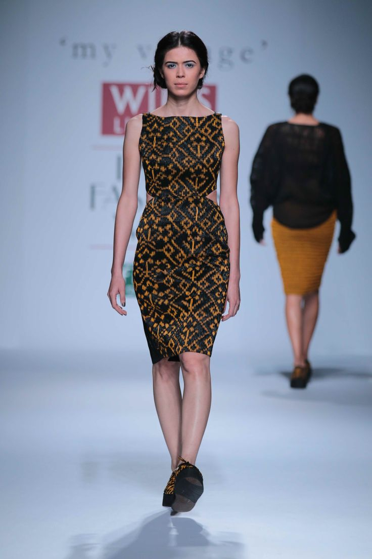 Strands of leather weaved intricately formed some beautifully structured ensembles