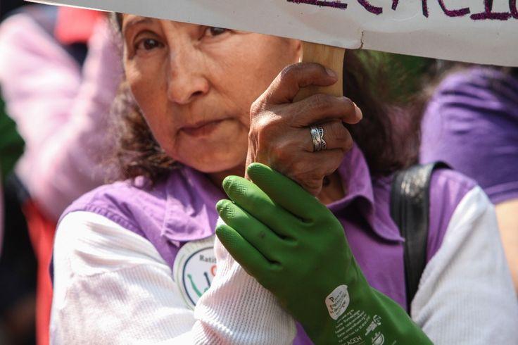 Hoy, en su día internacional, se hace visible la lucha por la reivindicación de sus derechos. Lamenta la CNDH que México no haya ratificado el Convenio 189 de la OIT.