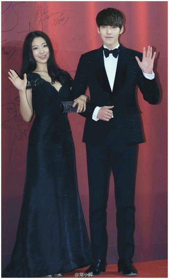 66 best Korean Actors images on Pinterest | Korean actors ... Park Shin Hye And Kim Woo Bin Hug