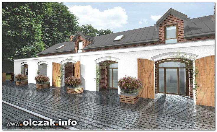 Architekt Maciej Olczak - projekt budynku usługowego