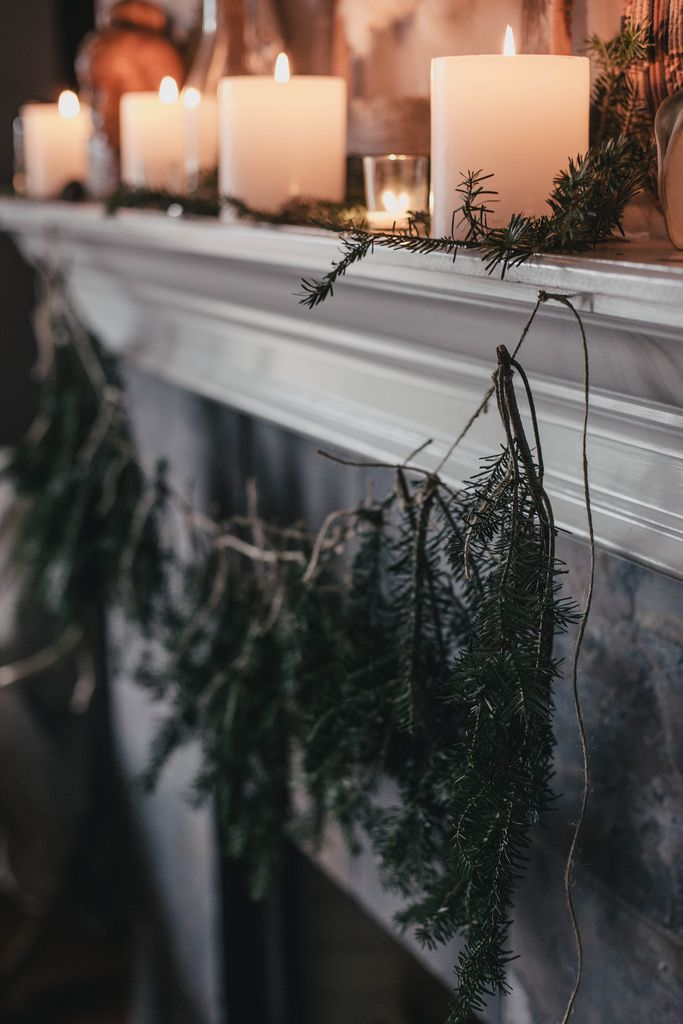 A Local Milk Christmas   Foraged Gift Wrapping, DIY Tree Trimming Garland, and recipes for Balsam Fir Syrup + Fennel Rosemary Snowflake Cookies