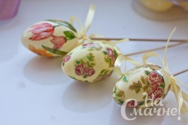 Украшение пасхальных яиц  (4)