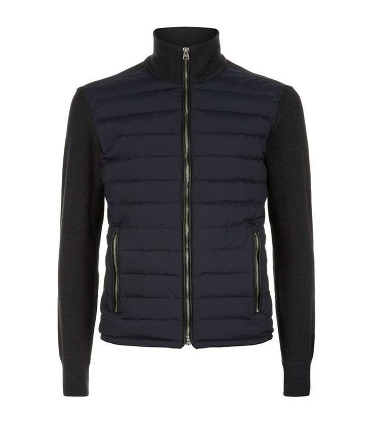 Tom Ford SPECTRE knitted sleeve bomber jacket worn by Daniel Craig James Bond #skintoll #FlightBomber