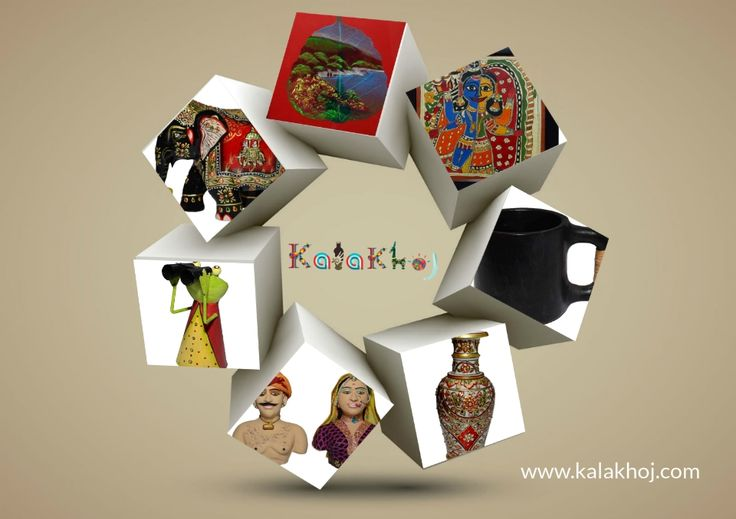 """""""Kala"""" means Art and """"Khoj"""" means search. If you are in a search of art, this would be the best place to visit.  It is a marketspace where an artist can display their feelings, emotions attached with Indian culture through their art. The art lovers can also experience the beauty of the products. CLICK HERE to Buy this products - www.kalakhoj.com"""