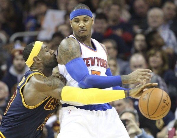 REPORT: LeBron James stoking Carmelo-to-Cavs trade rumors = The Cleveland Cavaliers knocked off the New York Knicks on Saturday night at Madison Square Garden. Although it appears the two are nowhere near done in…..