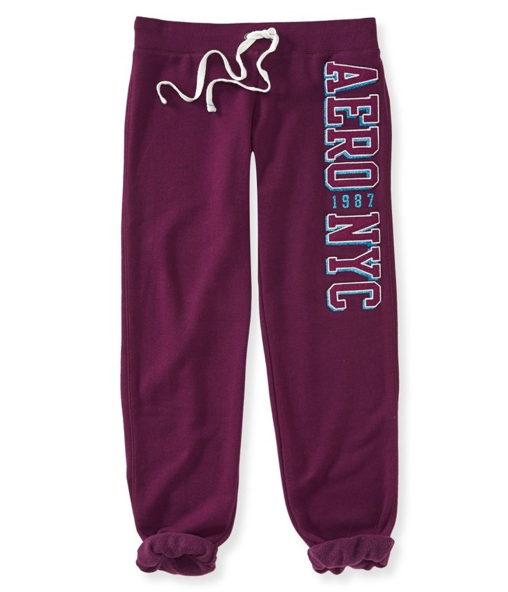 Logo Heritage Cinch Sweat Pants - Aeropostale //     Now: $15.00