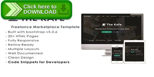 [ThemeForest]Free nulled download The Kafe - Ultimate Freelance Marketplace Template from http://zippyfile.download/f.php?id=32829 Tags: freelance job board, freelance job directory, freelance jobs template, freelance marketplace, Freelance Marketplace Template, freelancers, job board, job directory, job posting, jobs template