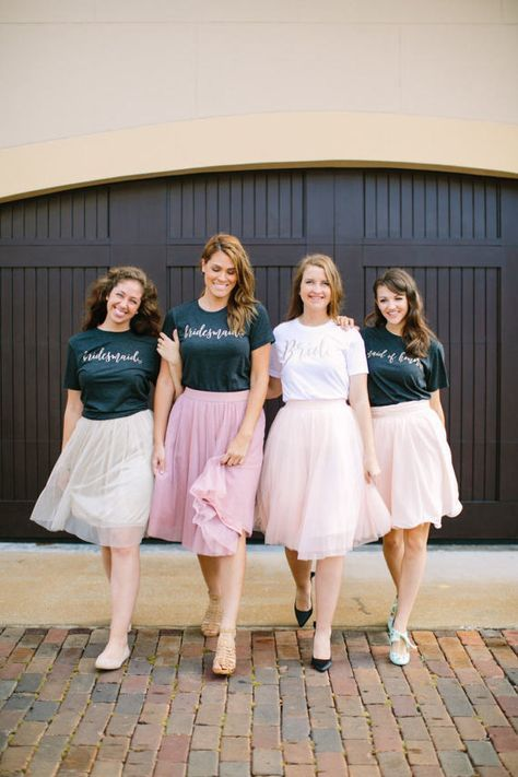 Bride Shirt Bridesmaid Shirt Bridal Party Shirts Wedding Bride Shirt, Bridesmaid Shirt - These wedding party short sleeve t shirts with GOLD text for your bridesmaids are sure to make your big day brighter and have everyone asking you where you got this great soft shirt. Our shirts are 100% made in the USA, and we use a high-quality unisex t-shirt that is insanely soft. In fact, it will be one of the softest, best fitting, most comfortable shirts you've ever owned.