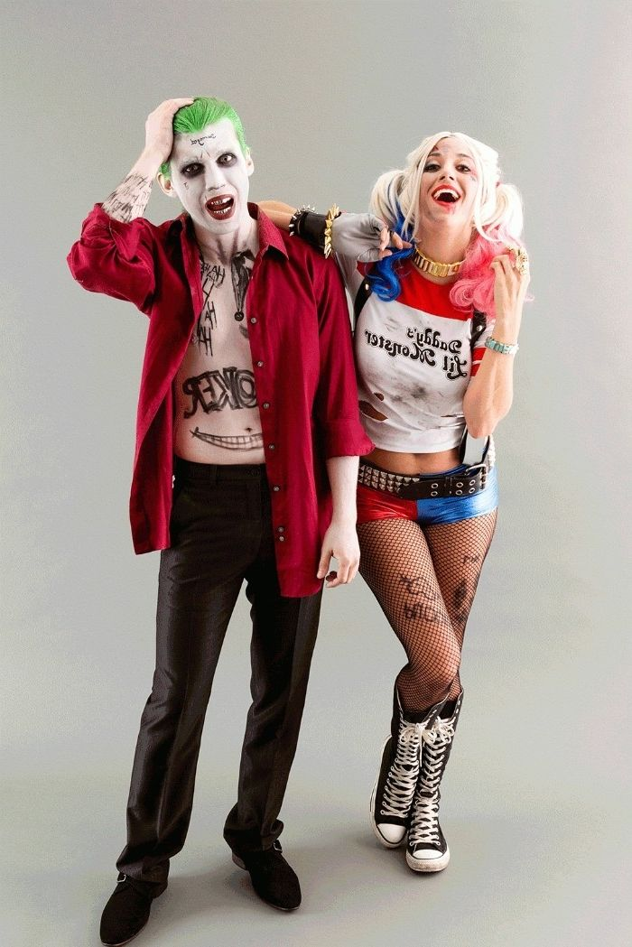 Suicide Squad Joker Halloween Costume.1001 Ideas For Couples Halloween Costumes Super Easy To Make