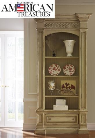 shop for habersham plantation corporation hathaway single bookcase and other living room bookcases at hickory furniture mart in hickory nc