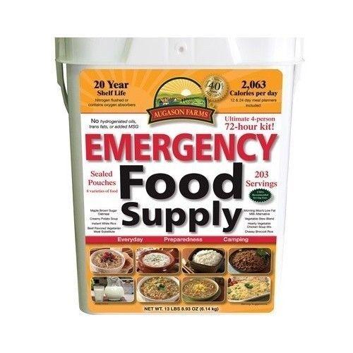 #Emergency Preparedness 12 Day #Food Supply #Disaster #Survival Foods Kit #Safe #Panic #AugasonFarms