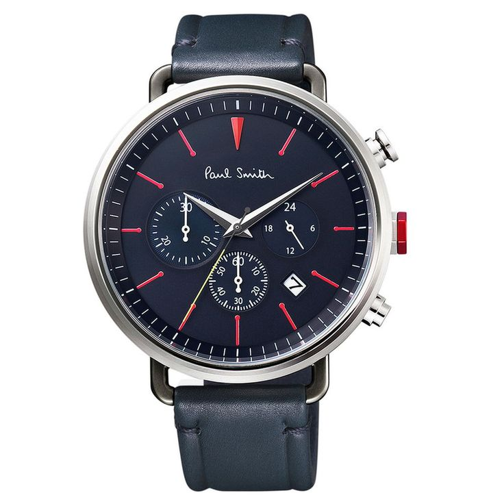 Paul Smith Watch Simple BLACK CYCLE EYES CHRONOGRAPH Mens #Paulsmith #ContemporaryDesign