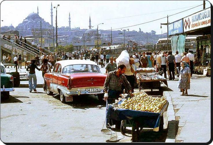 Eminönü 1970 'ler / İstanbul